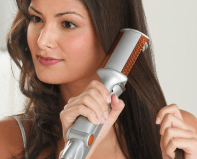 Curling Iron with Hair Straightener